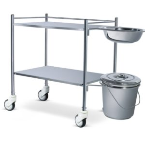 Dressing Trolley With Bowl