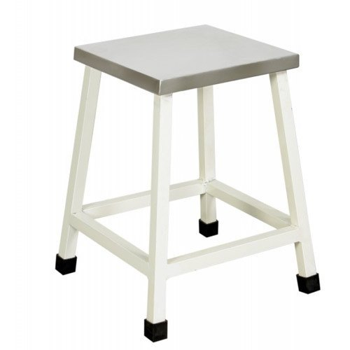 Hospital Square Stool with SS top